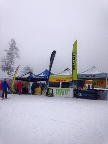 Nevado Mountain Adventures offers free demos on winter gear and outdoor adventure gear