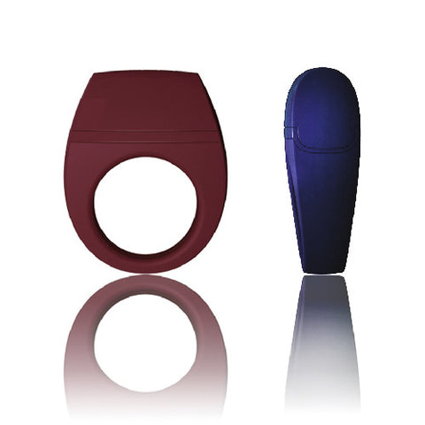 Bo Rechargeable Silicone Vibrating Cock Ring