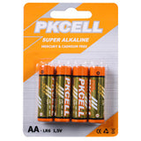 AA Super Alkaline Batteries 4/pk (12/box) Price per 4/pk