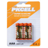 AAA Super Alkaline Batteries 4/pk (12/box) Price per 4/pk