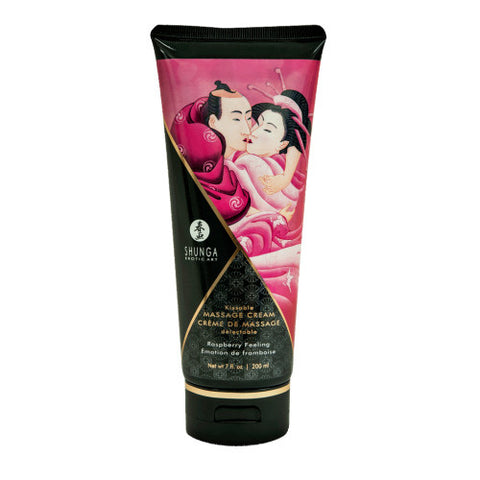 Kissable Massage Cream Raspberry Feeling 7 oz