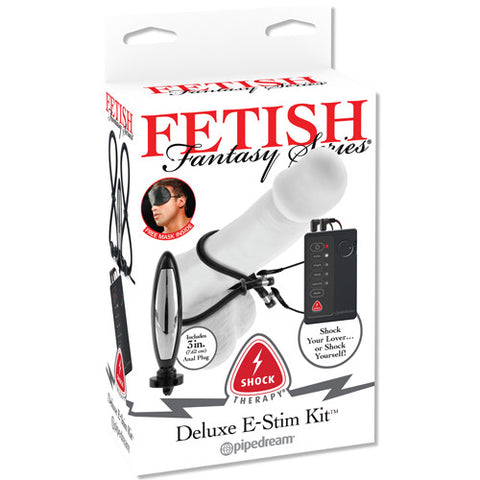Fetish Fantasy Series Shock Therapy Deluxe E-Stim Kit