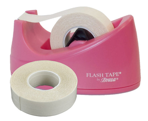 Cute Flash Tape Fashion Double Sided Tape Dispenser - Baretique  - 1