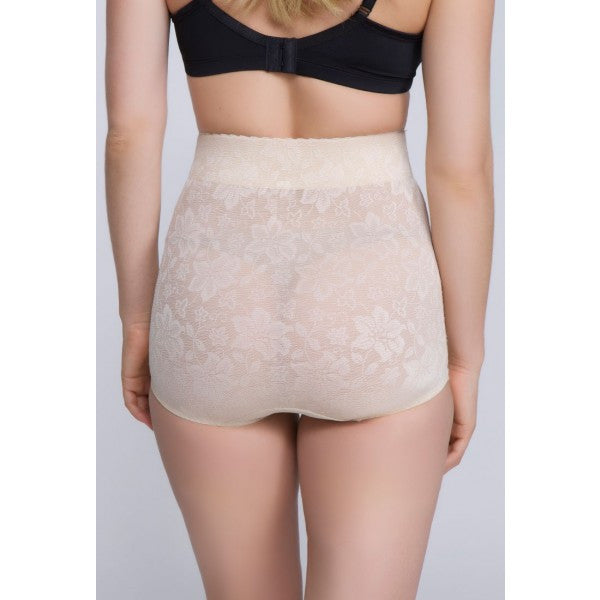 Jacquard Lace High Waist Shaper - Baretique  - 1