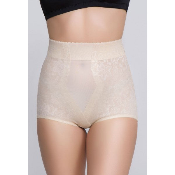 Jacquard Lace High Waist Shaper - Baretique  - 3