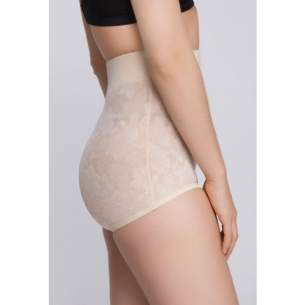 Jacquard Lace High Waist Shaper - Baretique  - 4