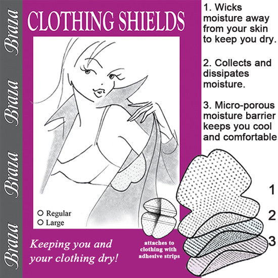 Clothing Shields - Baretique  - 1