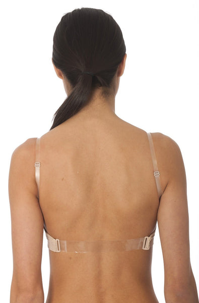 Soft Cup Clear Back Bra - Baretique  - 1