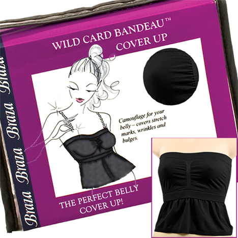 Wild Card Bandeau Cover-Up - Baretique