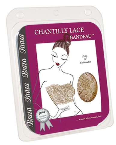 Chantilly Lace Bandeau - Baretique  - 1