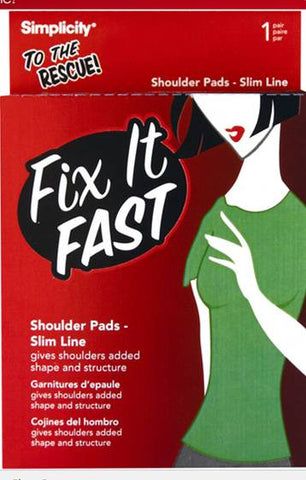 Fix it Fast Slim Line Shoulder Pads - Baretique