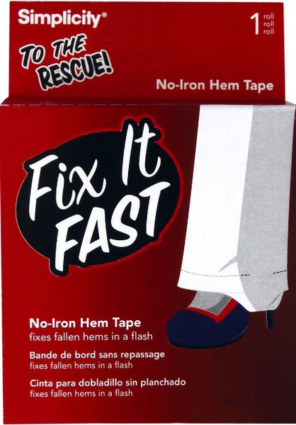 Fix It Fast Roll of No-Iron Hem Tape - Baretique  - 1