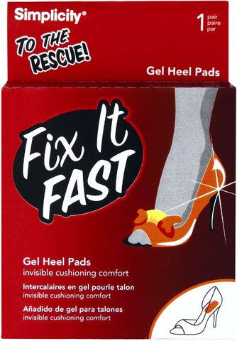 Fix It Fast Gel Heel Pads - Baretique  - 1