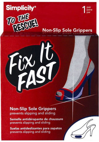 Fix It Fast Shoe Sole Grippers - Baretique  - 1