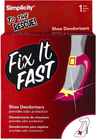 Fix It Fast Shoe Deodorizers - Baretique