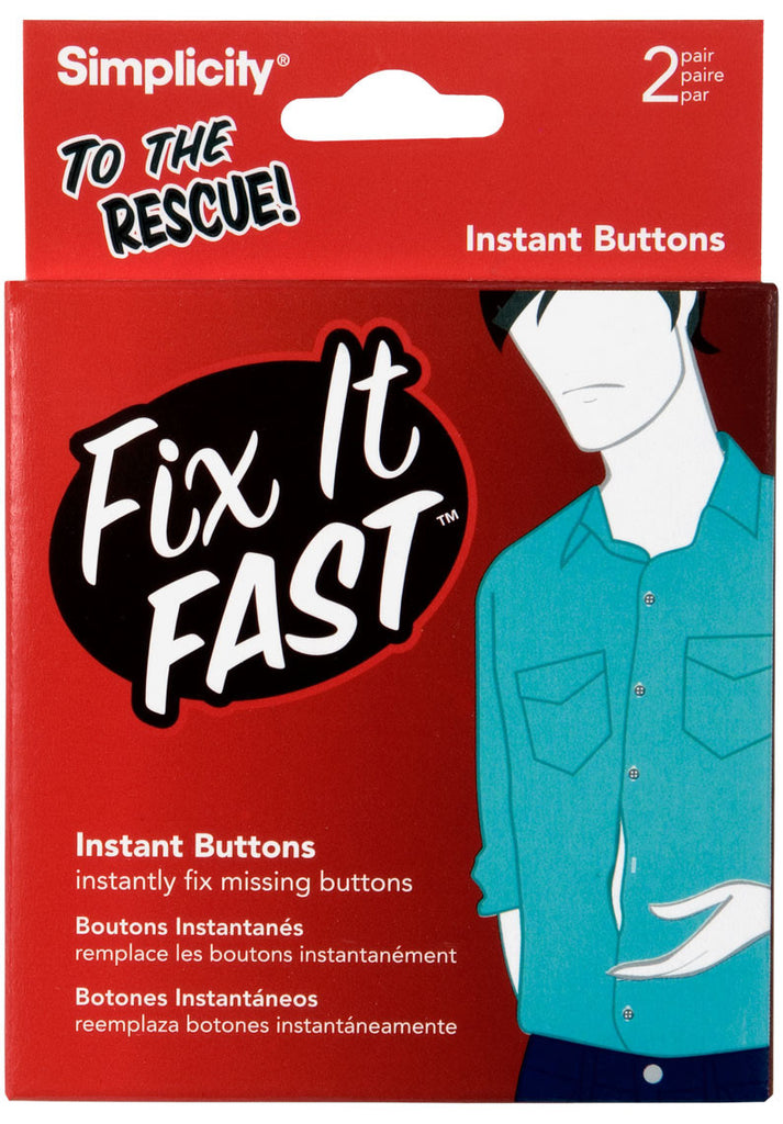 Fix It Fast Instant Buttons - Baretique  - 1