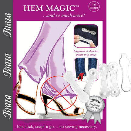 Hem Magic Temporary Hem Adjusters - Baretique