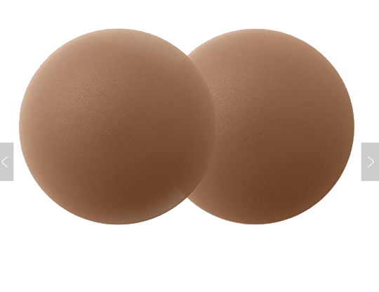 Bare Skins XL Matte Silicone Nipple Covers