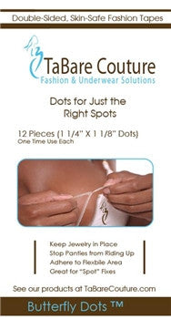 Butterfly Dots Fashion Tape - Baretique  - 1