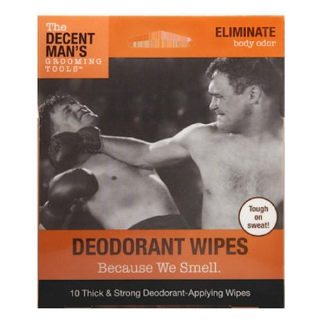 Decent Man's Grooming Tools Deodorant Wipes - Baretique
