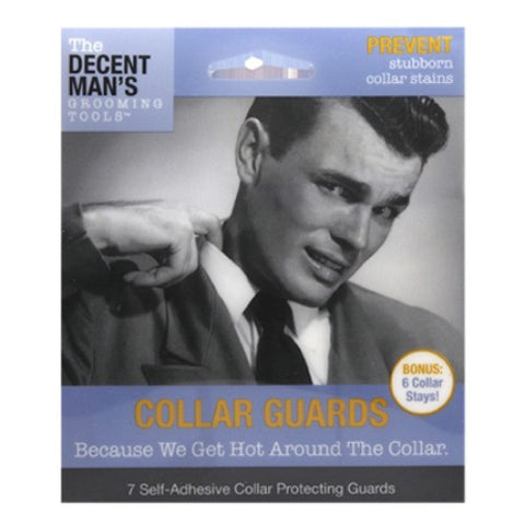 Decent Man's Grooming Tools Collar Guards with Bonus Collar Stays - Baretique