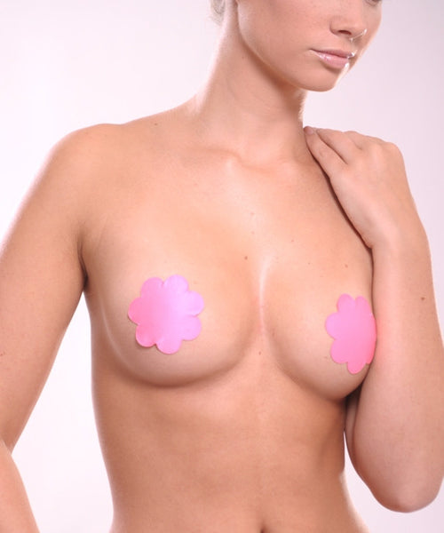 Faux Leather Reusable Nipple Covers - Baretique  - 4