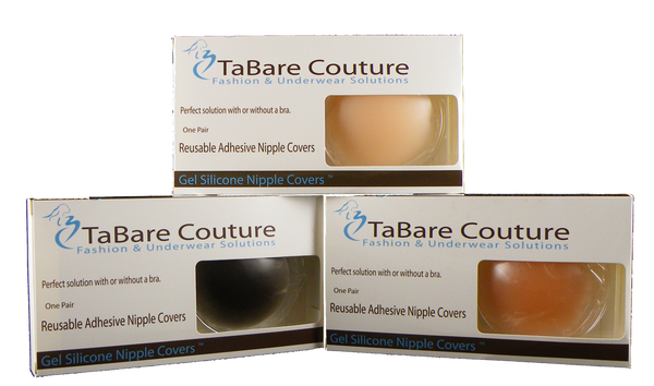 Gel Silicone Nipple Covers - Baretique  - 1