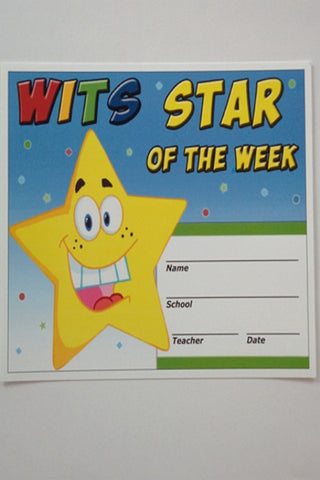 WITS Star of the Week Cards (40 in a set)