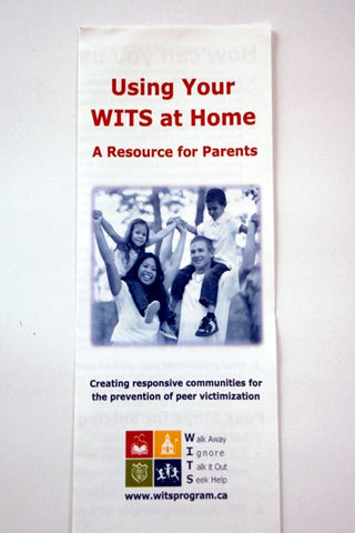 Pamphlets WITS at Home  (For Parents)