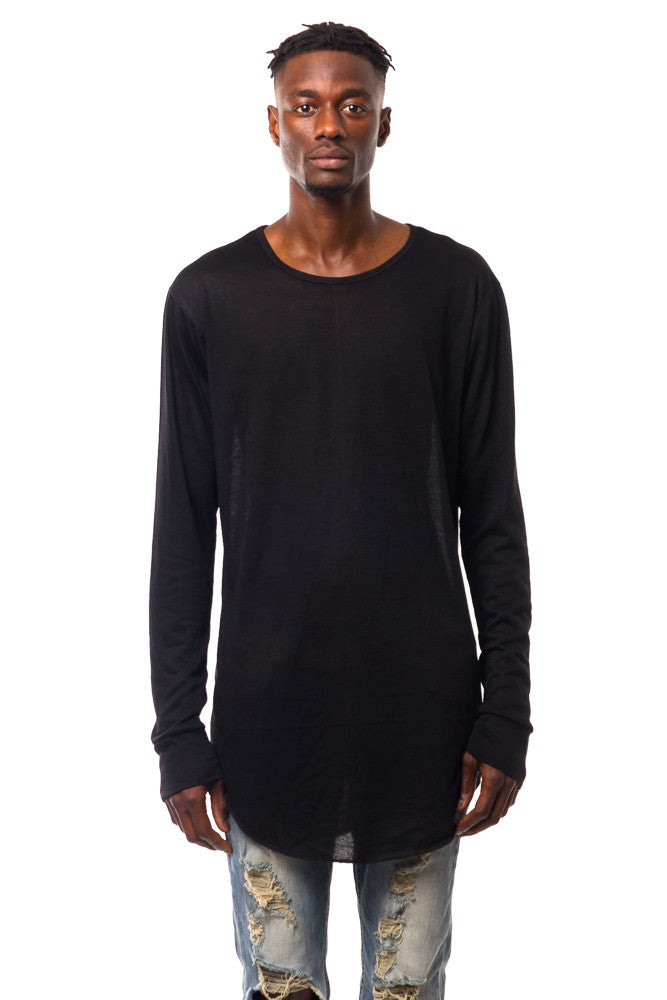 BLACK LONG SLEEVE JERSEY