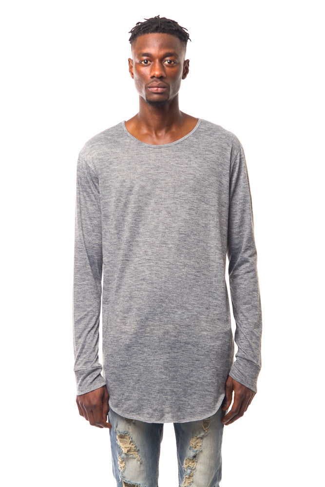 GREY LONG SLEEVE JERSEY