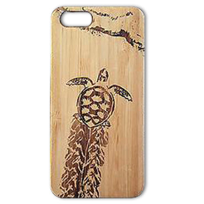 Baby Sea Turtle Laser-Engraved Case for iPhone 8, 8 Plus, 7, 7 Plus, 6, 6S, 6 Plus, 6S Plus, SE, 5, 5S