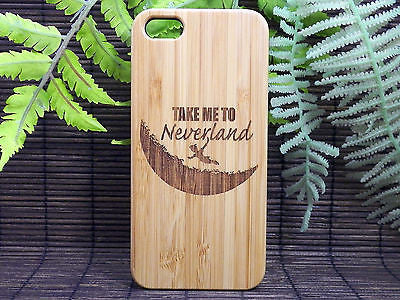Neverland Laser-Engraved Case for iPhone 8, 8 Plus, 7, 7 Plus, 6, 6S, 6 Plus, 6S Plus, SE, 5, 5S