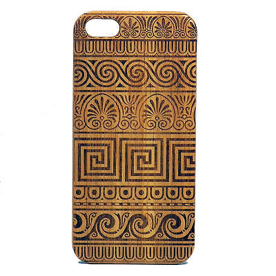 Greek Laser-Engraved Case for iPhone 8, 8 Plus, 7,  7 Plus, 6, 6S, 6 Plus, 6S Plus, SE, 5, 5S