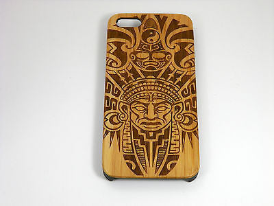 Aztec Laser-Engraved Case for iPhone 8, 8 Plus, 7, 7 Plus, 6, 6S, 6 Plus, 6S Plus, SE, 5, 5S, 5C
