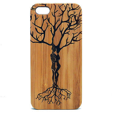 Ketubah Love Tree Laser-Engraved Case for iPhone 8, 8 Plus, 7, 7 Plus, 6, 6S, 6 Plus, SE, 5, 5S