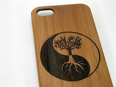 Tree of Life iPhone Case | 8, 8 Plus, 7, 7 Plus, 6, 6S, 6 Plus, SE, 5, 5S. Bamboo Wood Cover
