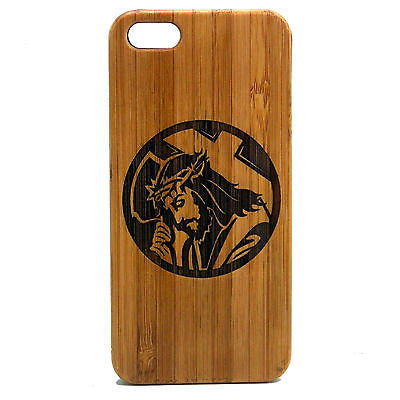 Jesus Laser-Engraved Case for iPhone 8, 8 Plus, 7, 7 Plus, 6, 6S, 6 Plus, 6S Plus, SE, 5, 5S