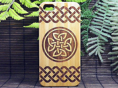 Celtic Knot Laser-Engraved Case for iPhone 8, 8 Plus, 7, 7 Plus, 6, 6S, 6 Plus, SE, 5, 5S