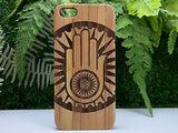 Jainism Hand Laser-Engraved Case for iPhone 8, 8 Plus, 7, 7 Plus, 6, 6S, 6 Plus, 6S Plus, SE, 5, 5S