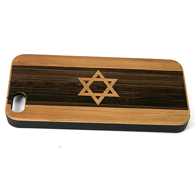 Israel Flag Laser-Engraved Case for iPhone 8, 8 Plus, 7, 7 Plus, 6, 6S, 6 Plus, 6S Plus, SE, 5, 5S