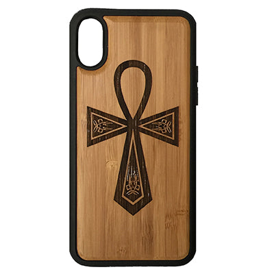 Egyptian Ankh Laser-Engraved Case for iPhone X, XS, XS Max, XR