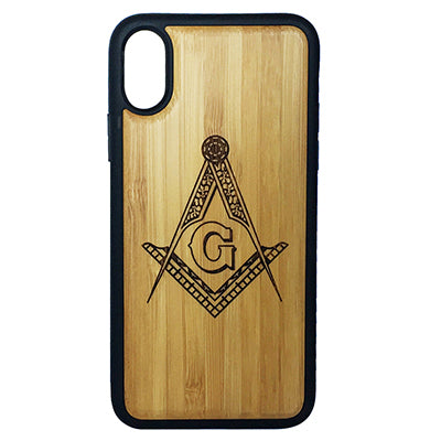 Freemason Laser-Engraved Case for iPhone X, XS, XS Max, XR