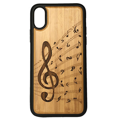 Treble Clef Case for iPhone X, XS, XS Max, XR