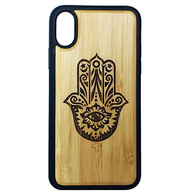 Hamsa Hand Laser-Engraved Case for iPhone X, XS, XS Max, XR