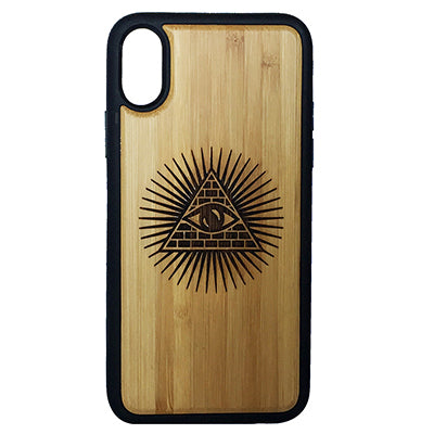 Illuminati Laser-Engraved Case for iPhone X, XS, XS Max, XR