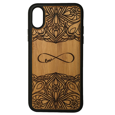 Infinity Laser-Engraved Case for iPhone X, XS, XS Max, XR