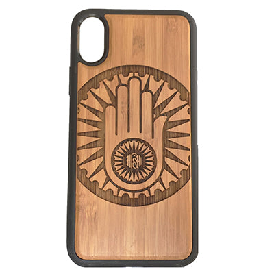 Jainism Hand Laser-Engraved Case for iPhone X, XS, XS Max, XR