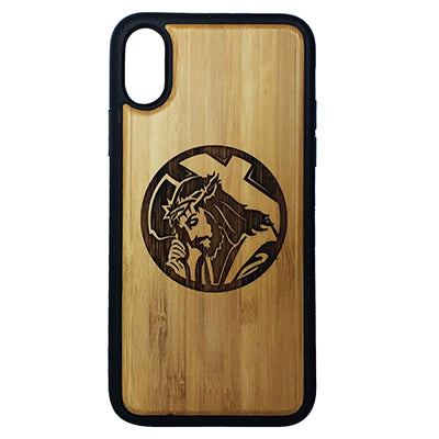 Jesus Christ Laser-Engraved Case for iPhone X, XS, XS Max, XR