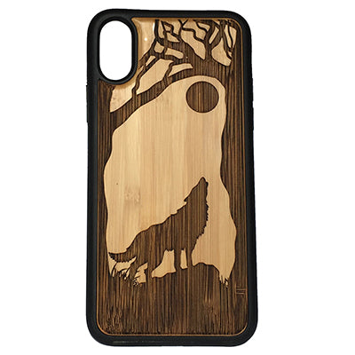 Wolf Case Cover for iPhone X, XS, XS Max, XR